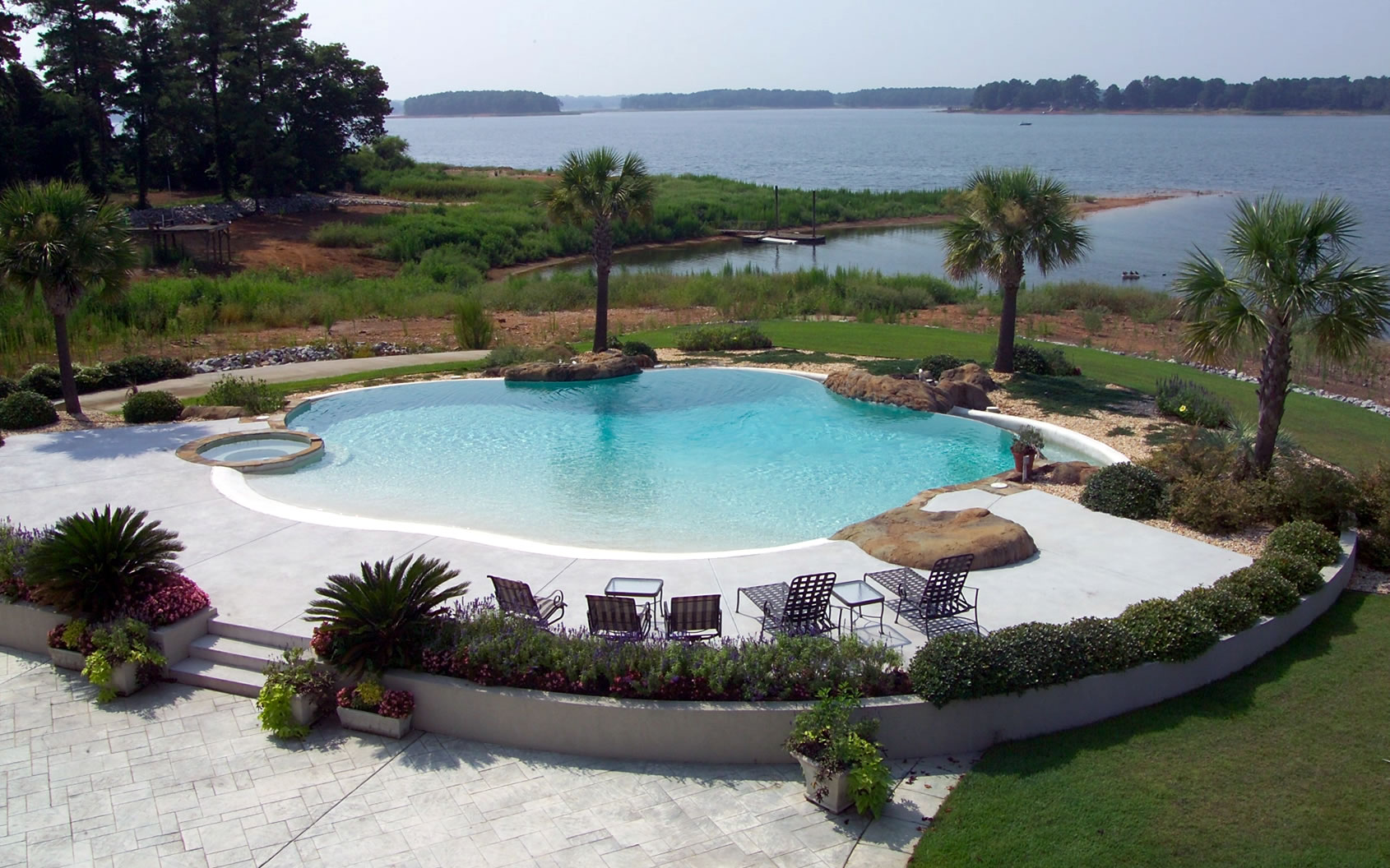 Residential Pool Designs custom built residential swimming pools pool contractor designer eugene and bend oregon South Carolina Pool Designer