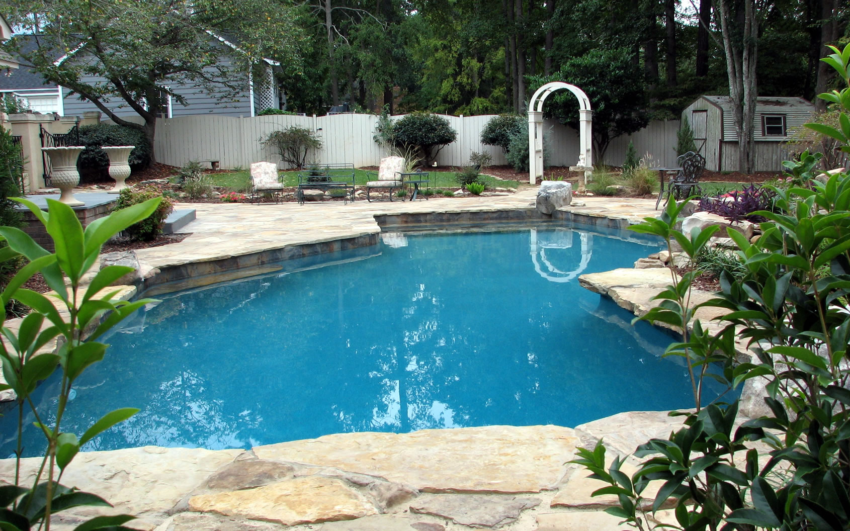 Captivating 10 pool designer decorating design of pool for Pool design by laly llc