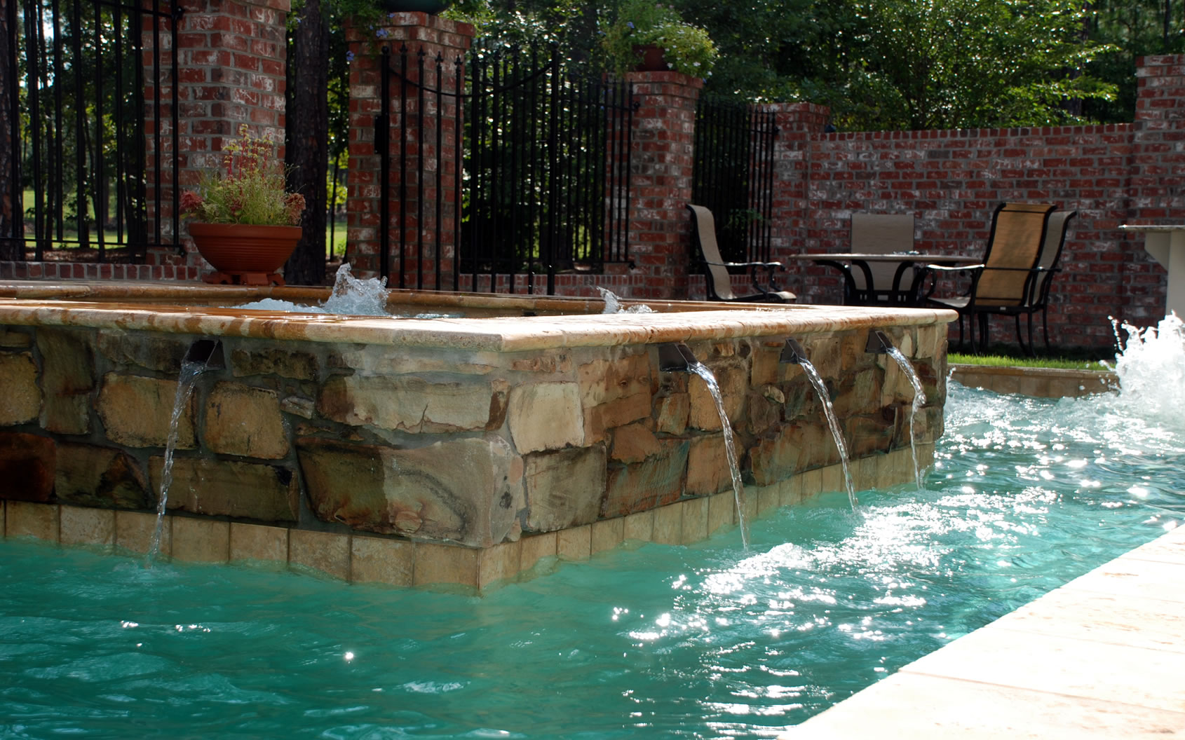 Koi ponds and water features by columbia and charleston for Koi pool water